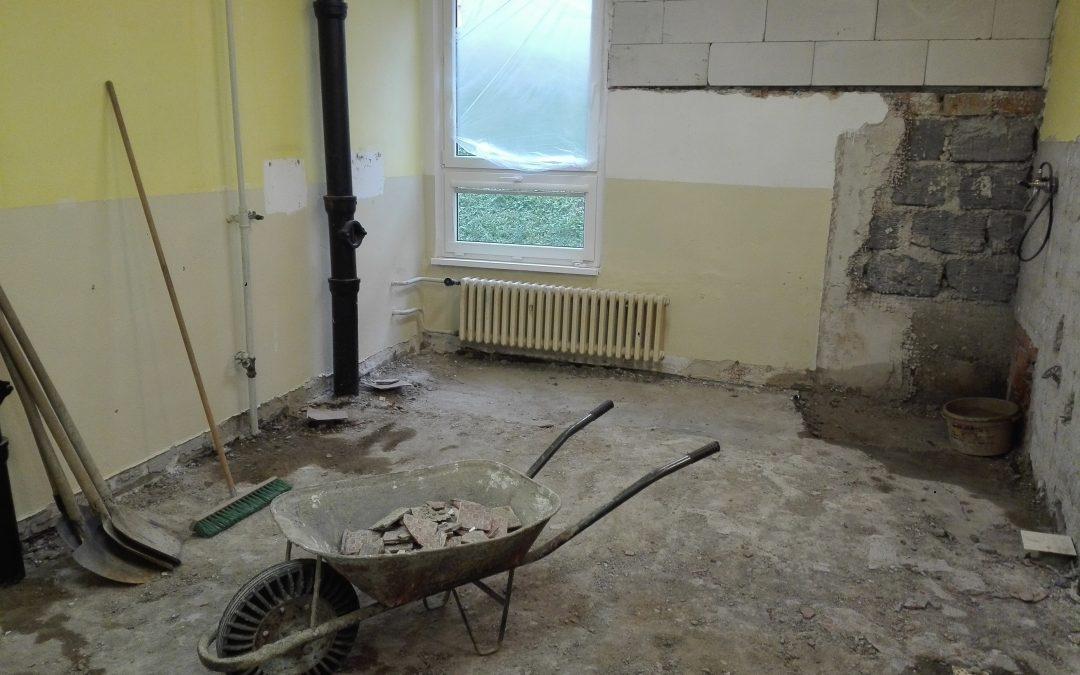 Rekonštrukcia šatní a kúpelní