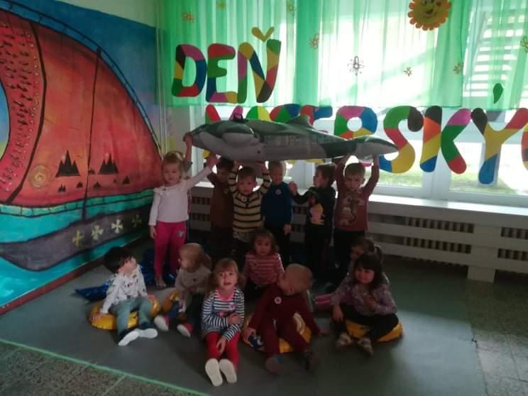 Deň MŠ v oranžovej triede